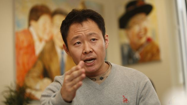 Así 'se prepara' Kenji Fujimori para ir al tribunal disciplinario de Fuerza Popular. (Perú21)