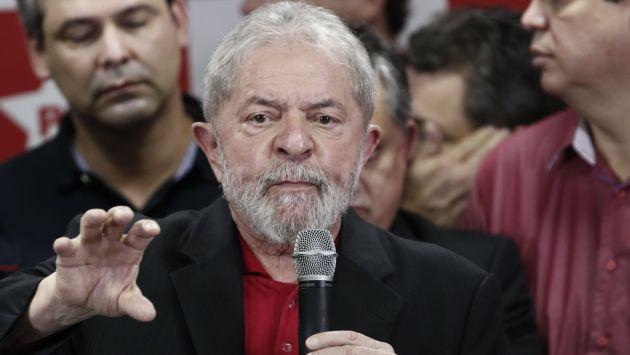 Lula da Silva, ex presidente de Brasil, fue condenado a 9 años y medio de prisión. (AFP)