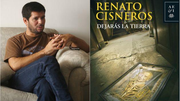 Renato Cisneros presenta su nuevo libro en la FIL.