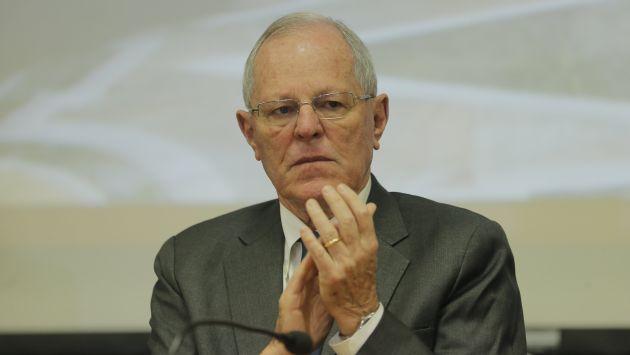 PPK afirmó que rescisión de contrato fue decidida por el MTC, el primer ministro y él. (David Huamaní)