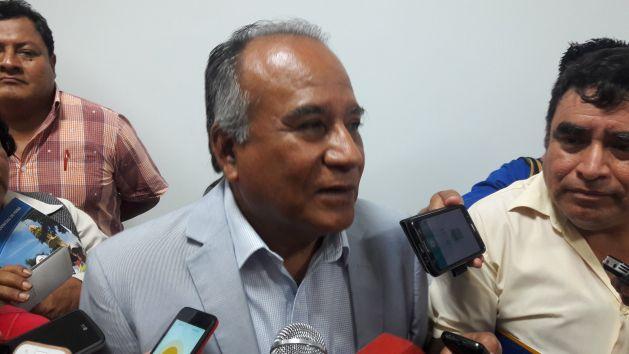 Óscar Miranda anunció que marchará junto a otros alcaldes (Perú21).
