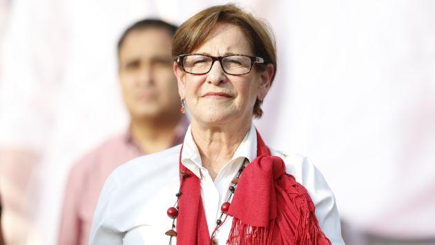 Susana Villarán se pronunció sobre prisión preventiva a Ollanta Humala y Nadine Heredia. (Mario Zapata)