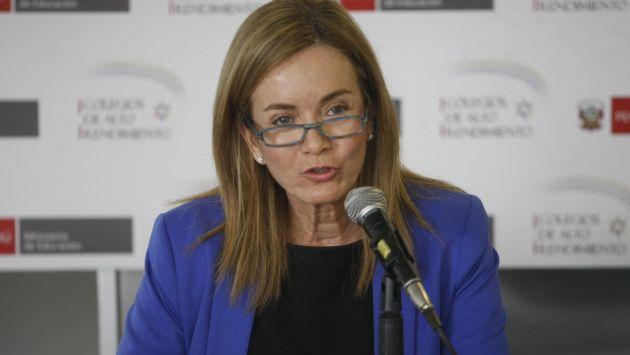 Ministra de Educación solicitó que los docentes acudan a clases y no perjudiquen el año escolar de los estudiantes. (Perú21)