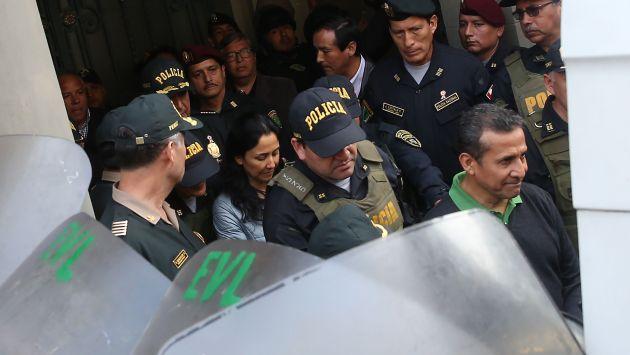 El martes formalizarán apelación contra prisión preventiva de Humala y Heredia. (USI)