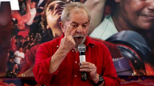 El ex presidente de Brasil Luiz Inácio Lula da Silva señaló que no existen pruebas para su condena. (AFP)
