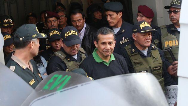 "Alberto Otárola: ""Humala ha pedido que no le den ningún trato especial"". (USI)"
