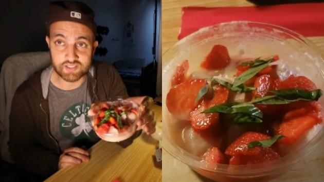 Facebook chef franc s timour prueba ceviche con fresas y for Chef en frances