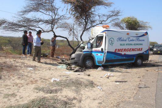 Terrible accidente de carretera. (JORGE MERINO)