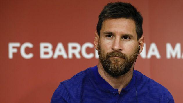 Lionel Messi sorprende en el básquet luciendo una impecable puntería. (EFE)