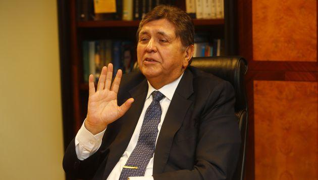 Alan García también se expresó sobre el caso del Aeropuerto Internacional de Chinchero. (USI)