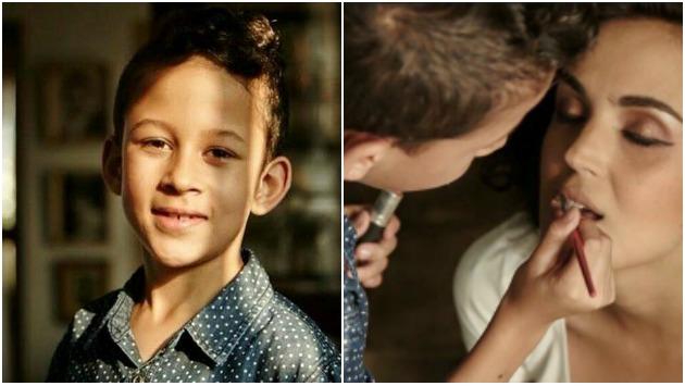 Conoce a Fabrizio, el niño maquillador de 10 años experto en brochas, polvos y coloretes.Conoce a Fabrizio, el niño maquillador de tan solo 10 años.