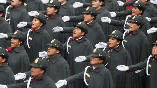 Más de ocho mil policías resguardarán actividades de Fiestas Patrias. (Anthony Niño de Guzmán)