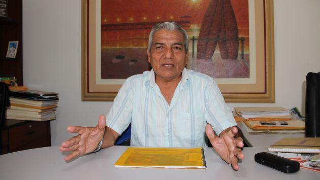 Elidio Espinoza removió de sus cargos a funcionarios. (USI)