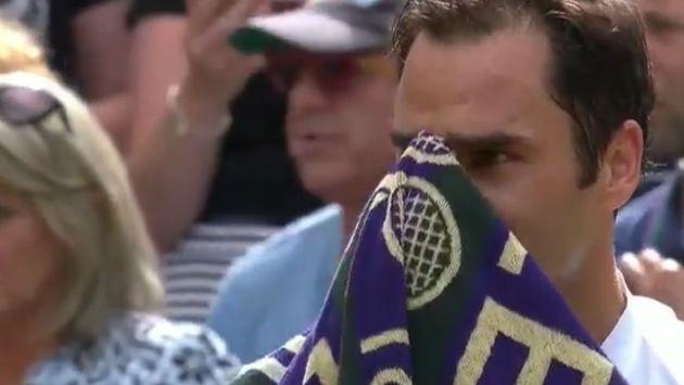 Roger Federer rompió en llanto luego alcanzar su octavo título en Wimbledon.