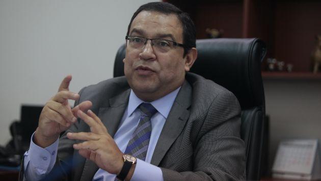 """Alberto Otárola: """"Fiscal alienta la impunidad"""". (USI)"""