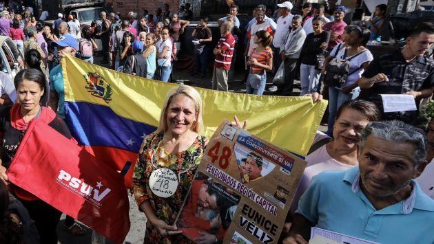 La oposición en Venezuela anunció que 7,186.170 votaron contra Nicolás Maduro en la consulta. (EFE)