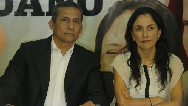 Fiscal está estructurando una acusación escrita contra los Humala. (Luis Centurión)