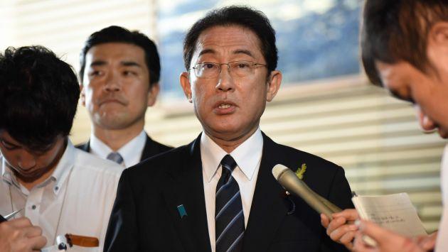Portavoz del Canciller de Japón, Fumio Kishida, sugiere que es tiempo de presionar a Corea del Norte (AFP).
