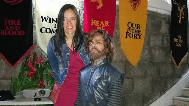 Marisa Glave se suma a la fiebre de 'Game of Thrones' y recibe críticas. (Facebook)