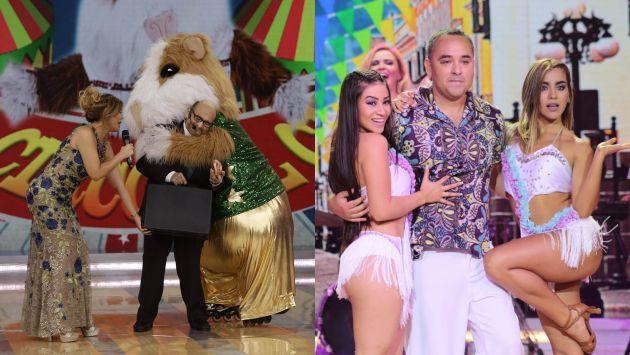 'El Gran Show' alcanzó 16 puntos de rating este último sábado. (Twitter/Anthony Niño de Guzmán)
