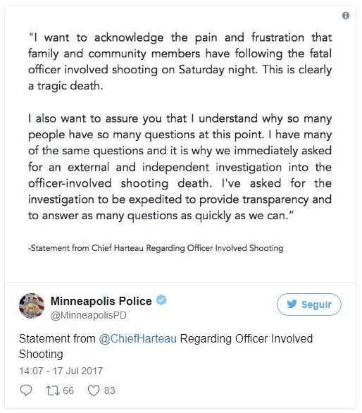 Policía mata a una mujer que llamó al 911