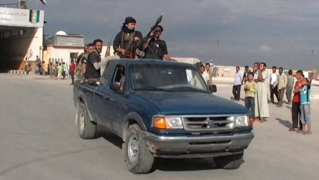 Estado Islámico ocupa el 22.65% de Siria. (AFP)