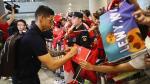 James Rodríguez causa furor en los hinchas 'bávaros' con su llegada a Shanghai - Noticias de carlo ancelotti