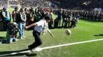 El disparó del mandatario boliviano, Evo Morales, provocó más de una risa. (YouTube: Maxi Fútbol)