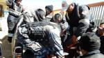 Caos en La Rinconada: Minero falleció por bala perdida y pobladores enfurecidos incendiaron patrullero [FOTOS] - Noticias de comisaría de san borja