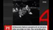 Lince: Delincuentes balean a pasajero de un taxi para robarle su celular [VIDEO]