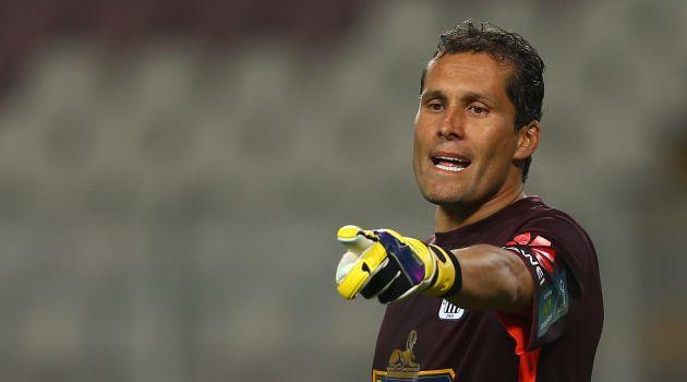 Butrón era duda en el partido debido a un fuerte golpe en el encuentro con Sport Huancayo. (USI)