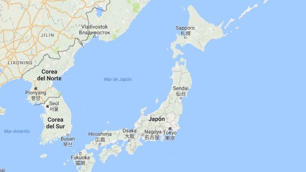 El temblor también se ha percibido en as prefecturas vecinas de Miyagi, Ibaraki, Tochigi, Aomori, Akita y Tokio en Japón. (Google Maps)