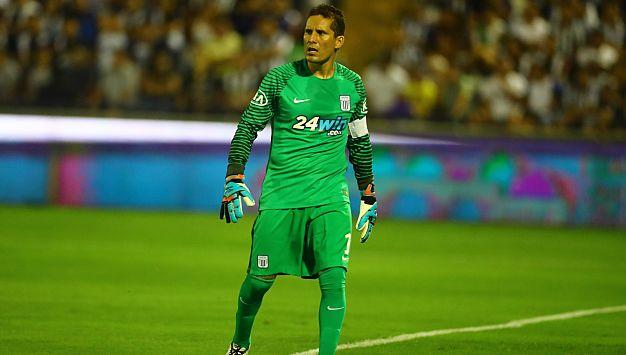 El portero 'íntimo' fue elegido como figura del partido entre Alianza Lima y Sporting Cristal. (USI)