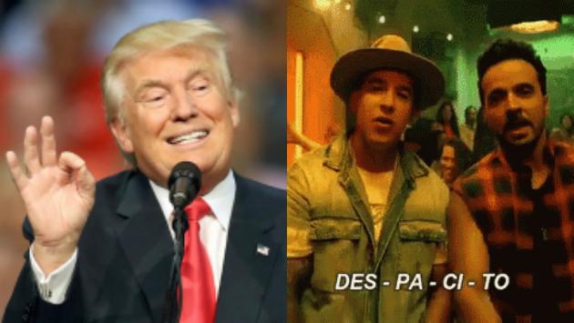 YouTube: Donald Trump 'cantó' 'Despacito' y se volvió viral (Composición/Getty Images)