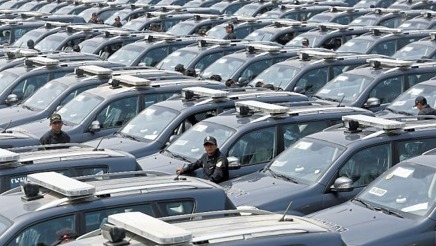 Ministerio del interior se ala que hay 200 patrulleros for Sueldos del ministerio del interior