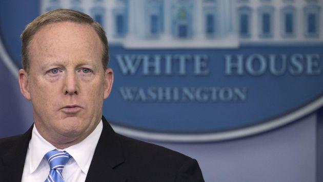 Sean Spicer, presentó este viernes su renuncia. (EFE)