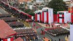 Ver por televisión o asistir a la famosa 'Parada Militar' en la Avenida Brasil. (Perú21)