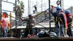 Cierran vías auxiliares de la avenida Brasil para instalar tribunas del desfile por Fiestas Patrias
