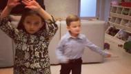 Los nietos de Donald Trump se unieron a la fiebre y bailan 'Despacito' (Instagram)