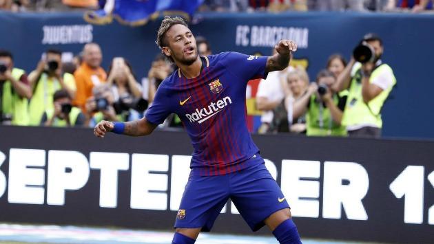 Neymar fue la figura del encuentro. (Barcelona/Twitter)