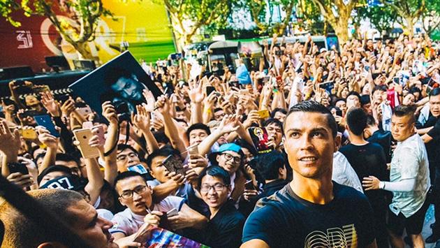 Cristiano Ronaldo desató locura en China con esta frase (Twitter/@Cristiano)