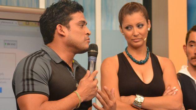 Karla Tarazona no cree en las lágrimas de Christian Domínguez. (USI)