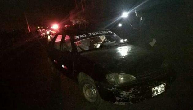 Chofer de colectivo fue asesinado de un balazo dentro de su unidad en la provincia de Ascope.