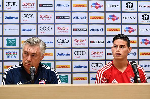 James fue cedido por dos temporadas al Bayern Munich. (Gettyimages)
