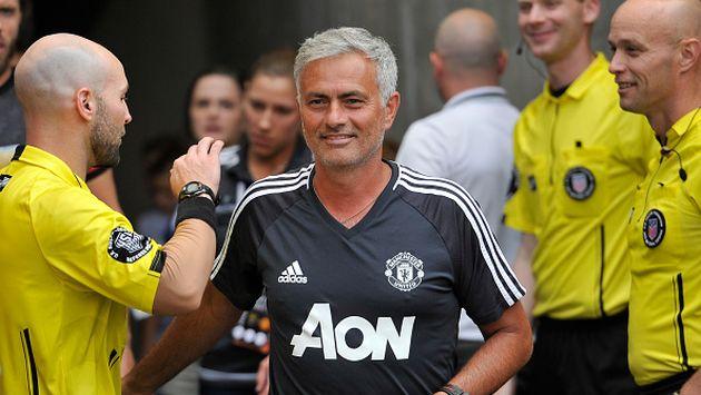 Mourinho es técnico del Manchester United desde la temporada 2016/2017. (Gettyimages)