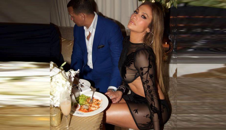Mira las fotos de la fiesta de cumpleaños número 48 de Jennifer López [FOTOS]