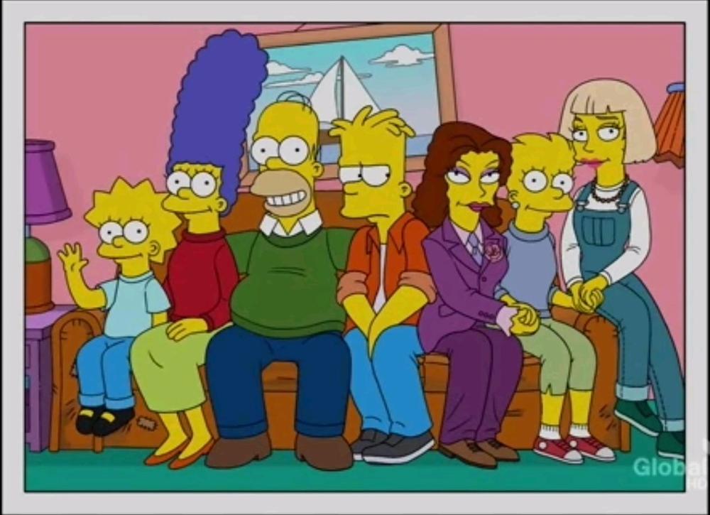 Lisa tendría relación gay — Los Simpsons
