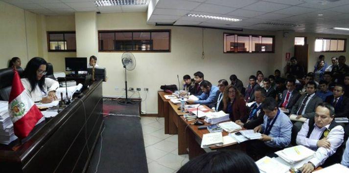 Los procesados fueron internados en el penal de Chiclayo.