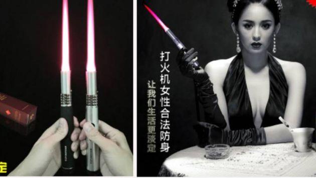 China: Ponen a la venta lanzallamas para disuadir a acosadores callejeros. (Taobao/Facebook)