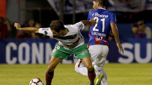 Boston River y Cerro Porteño jugaron en Montevideo. (EFE)